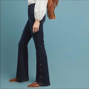 Anthropologie Pilcro high-rise boot cut jeans